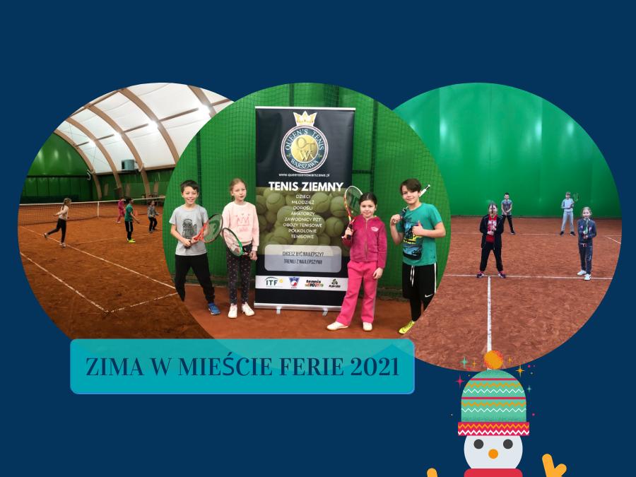 Zima w mieście Warszawa FERIE 2021